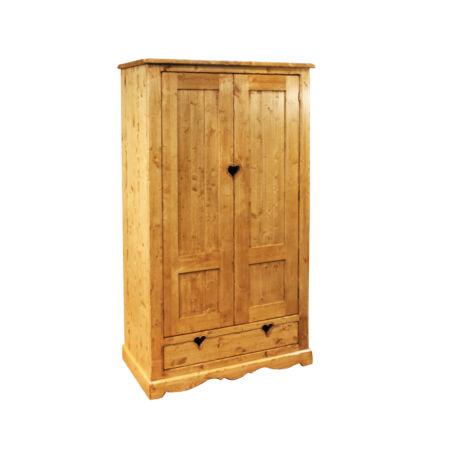 Két ajtós, egy fiókos szekrény